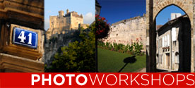 Photoworkshops - Digital imaging holiday workshops in France